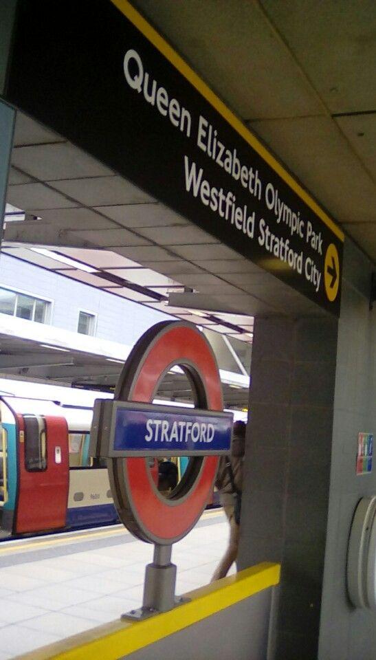 I'm at Stratford London Underground and DLR Station!