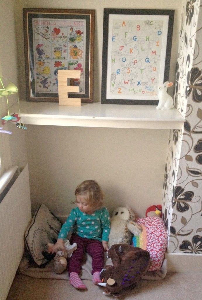 Toddler bedroom and cosy corner