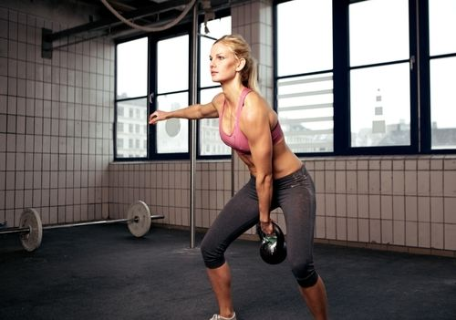 4 Minute Kettle Bell Fat Blaster - Burn Fat Up To 24 Hours with this #Workout from #SkinnyMs