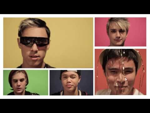 Best Of 2013 Mashup - IM5. Dalton (in pink) seems so thrilled about the Miley Cyrus sings XD