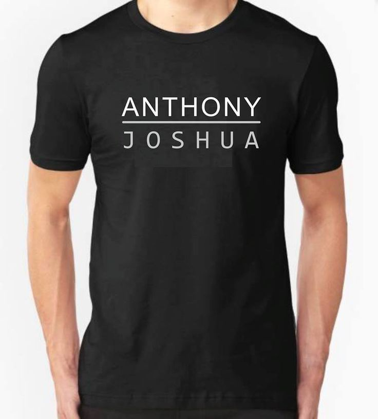 >> Click to Buy << Anthony Joshua T Shirt Top Small To 2XL Fcuk Fear Guaranteed Fast Shipping Men Funny O Neck Short Sleeve Cotton T-Shirt #Affiliate