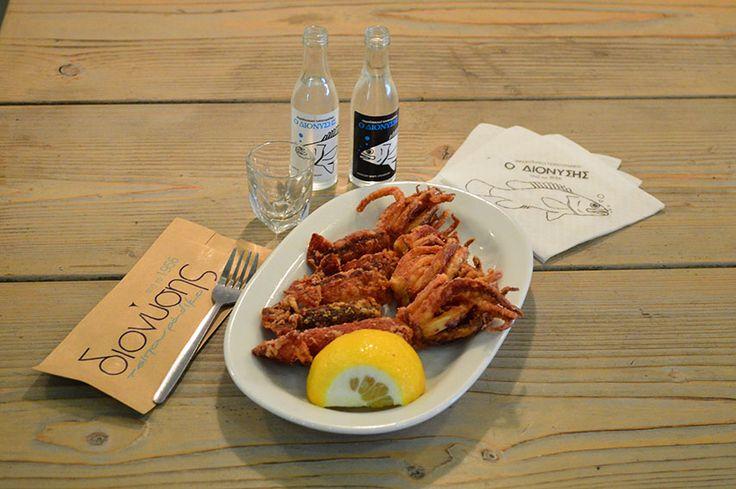 Θράψαλο Τηγανιτό - Cuttlefish Fried
