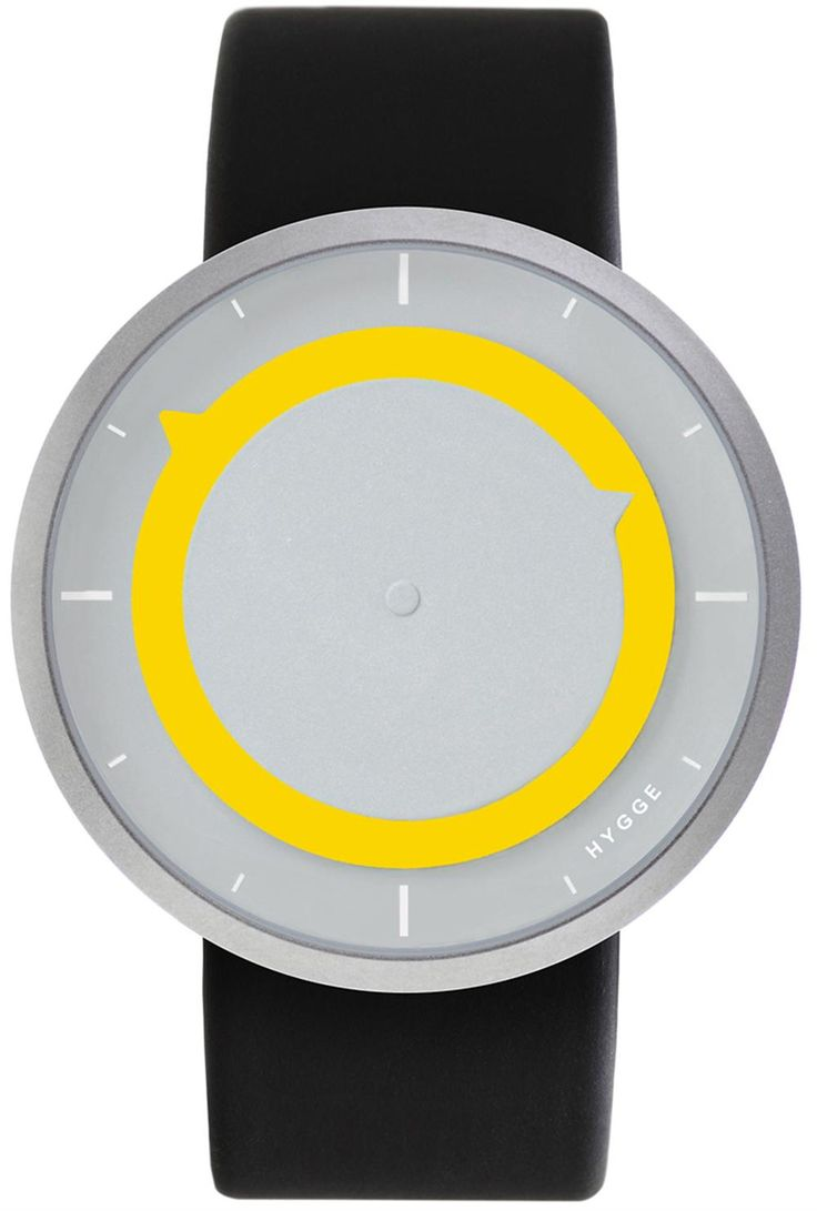 HYGGE 3012 Discus Yellow Limited Edition Watch | Free Worldwide Shipping from Watchismo