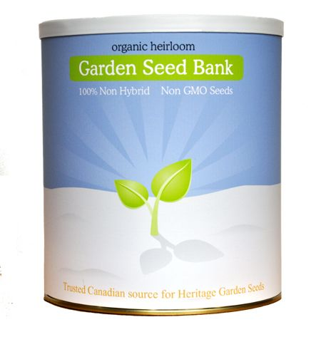 Garden Seed Bank - Heirloom (Chief Mountain Harvest -