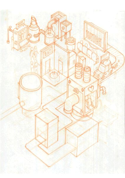 Life Production by BIG MOUTH, via Behance