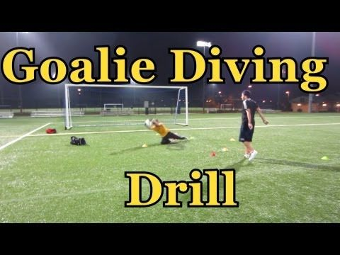 Soccer Diving Techniques : Goalkeeper Training