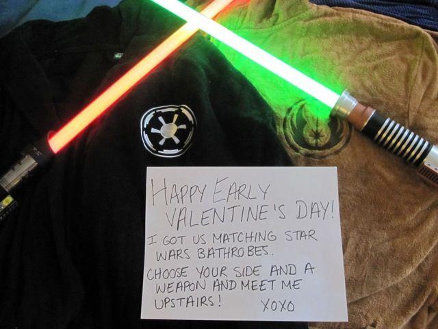 Guyu0027s Star Wars Valentine From Girlfriend