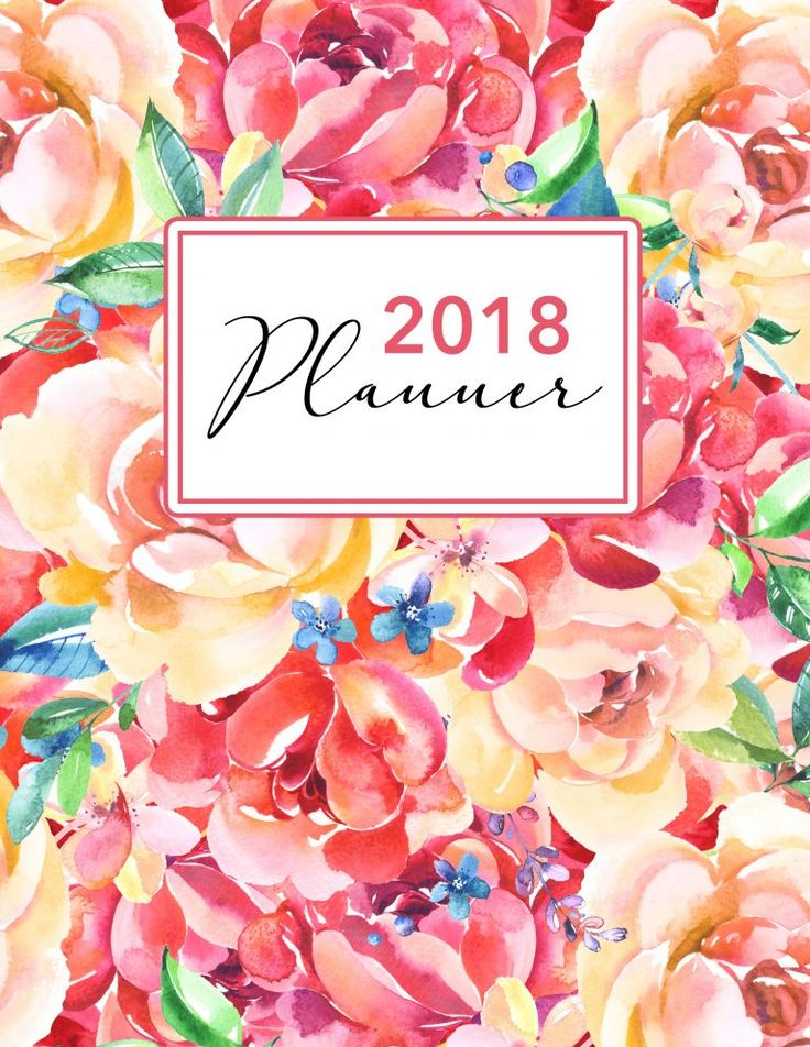 Here's wishing you and yours the most Wonderful New Year Ever! Today we have a special gift to all of our The Cottage Market Readers...a FREE Printable 2018 Planner with 50 Plus Printable Pages...from Daily Planner to Weekly Planner...Bill Tracker...Meal Planner...Doodles...Notes...Password Tracker and MORE!!! FREE!!!