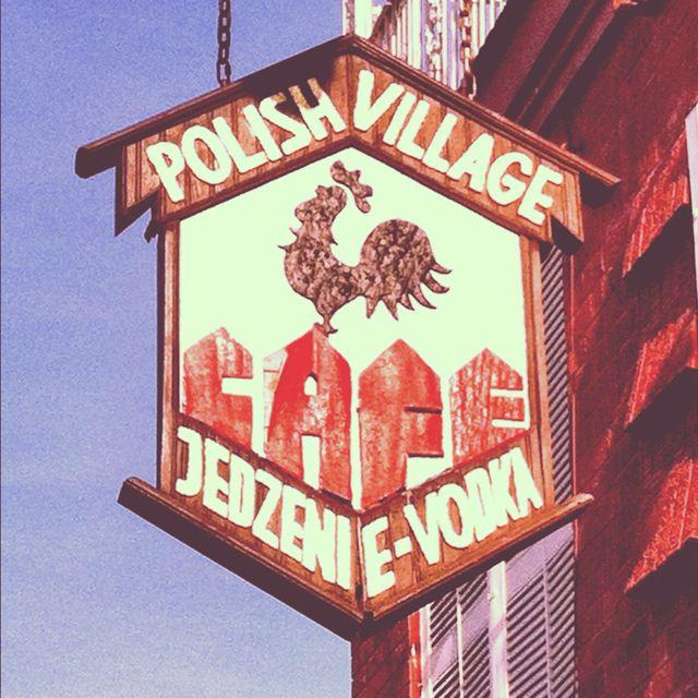 Polish Village -- Hamtramck, Michigan    Best Polish food in Hamtramck, was just there tonight!