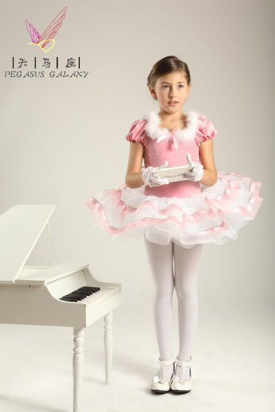 bdc1518d4294f Boy In Pink Dress & How To Look | Awesome in 2019 | Girls leotards, Girls  dance costumes und Pink flower girl dresses