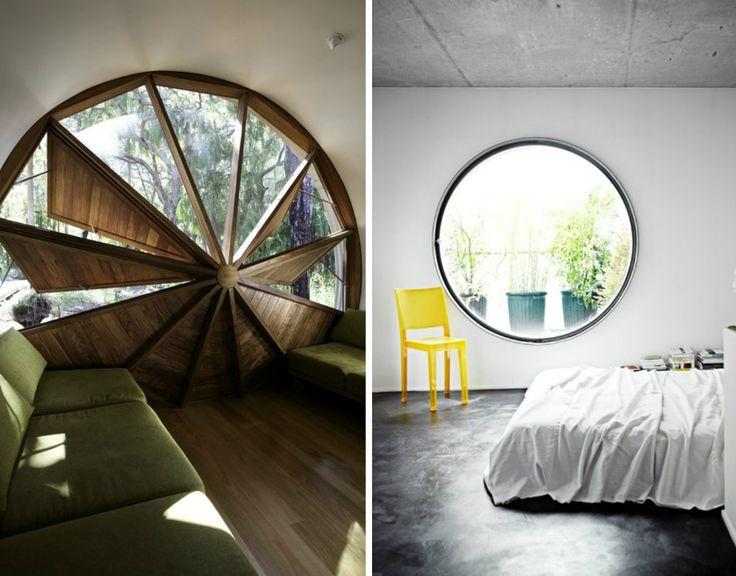 Round window tiny house big windows pinterest for Window design round