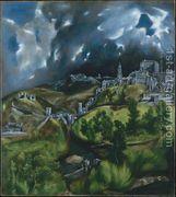 View of Toledo 1597-99  by El Greco (Domenikos Theotokopoulos)
