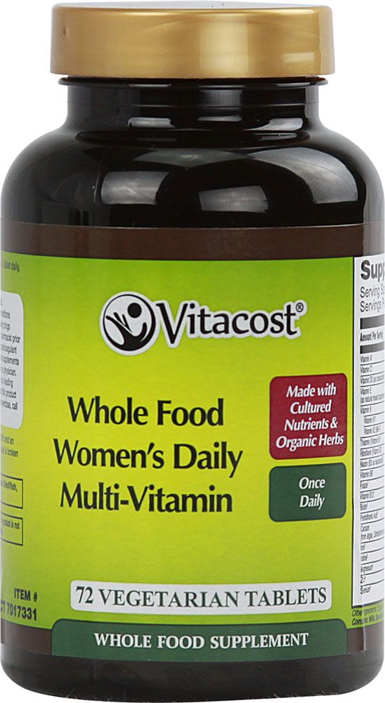 #Vitacost #BeboxVitacost Whole Food Women's Once Daily Multi-Vitamin