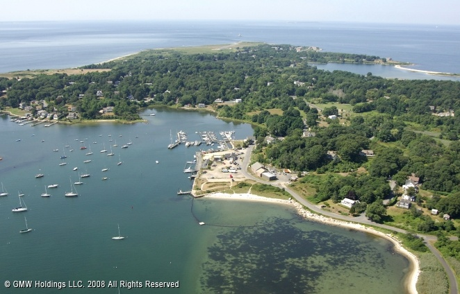 Fishers Island, NY. Charlie and I spent the summer of '87 here...