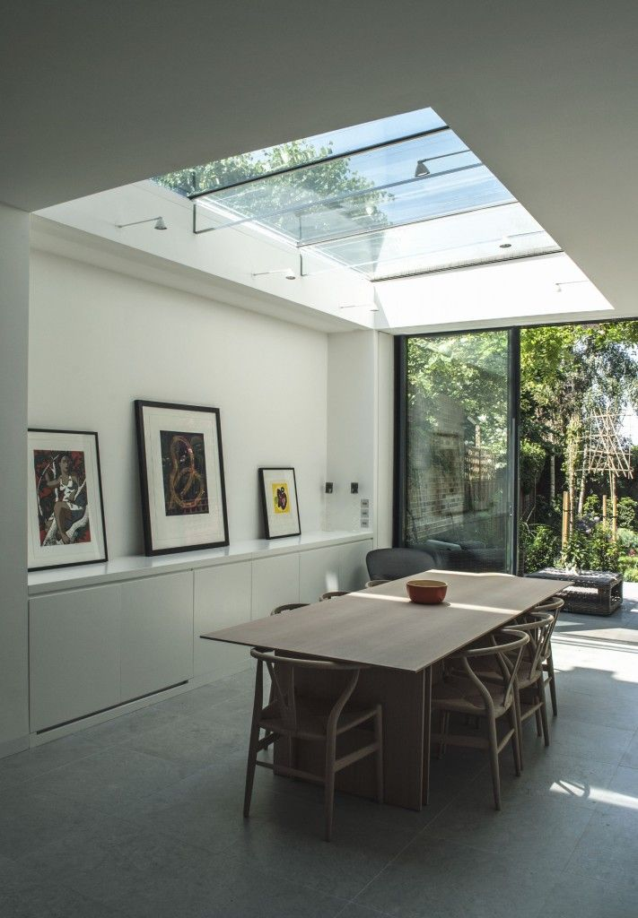 How To Use Structural Glass And Slim Framed Sliding Glass Doors Together. Roof  LightGlass ...