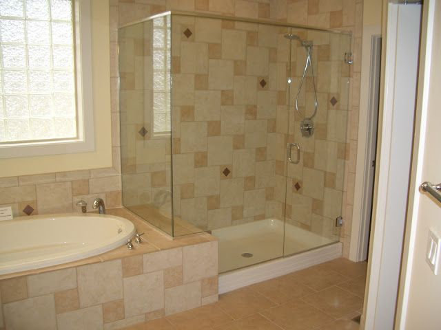 Bathroom Ideas With Attached Shower And Tub Shower Design Ideas Fabulous Bathroom Glass Shower Design With Tub On Shower Cakes Pinterest On The