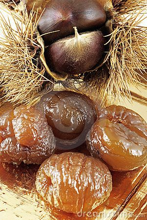 marron glace glaceed chesnuts all the way from the ard che south of france rustic and. Black Bedroom Furniture Sets. Home Design Ideas