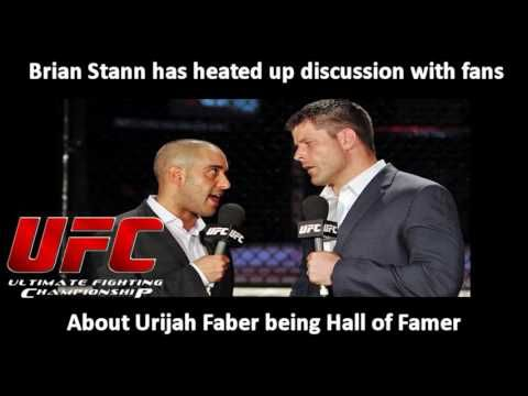 UFC: Brian Stann has heated up discussion about Urijah Faber being Hall ...