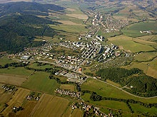 Aerial view of my neighborhood when I lived there.