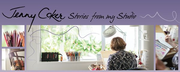 Sign up for my e-newsletter 'Stories from my Studio' for artistic inspiration and special VIP offers on original artworks!  If you love art and love stories - you'll be right at home :) ~ Jenny