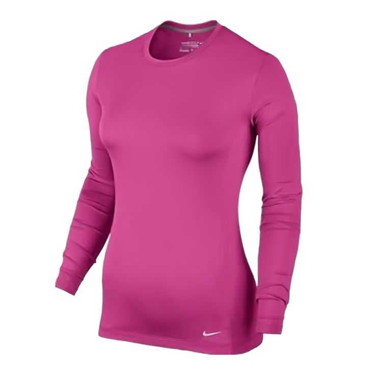 Nike Pro Long-Sleeve Crew Women's Golf Top