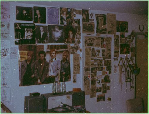 Teen-age punk rock bedroom 1983. | Flickr - Photo Sharing!