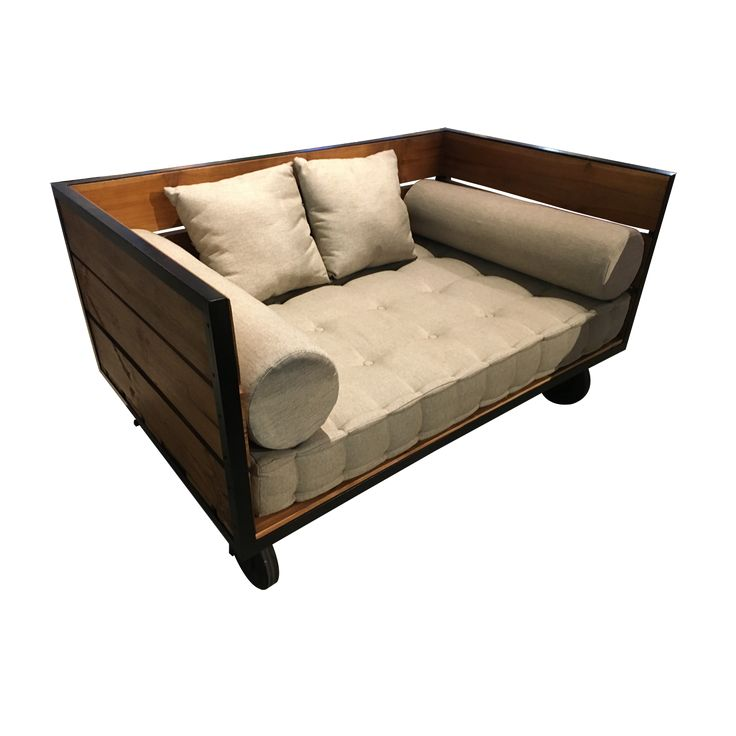 Industrial Sofa.  The Industrial Sofa bring the bygone era back to your modern or contemporary living space.