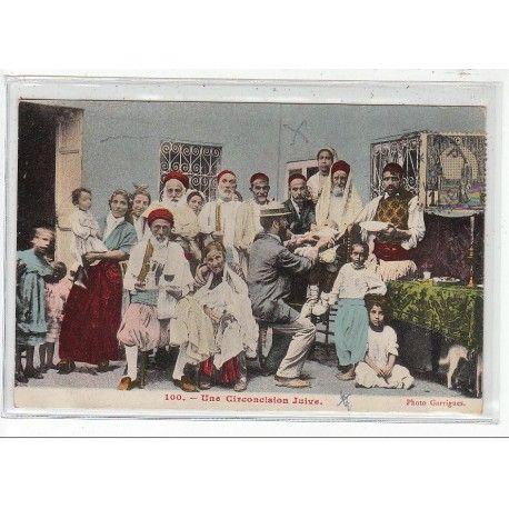 TUNISIE - Une Circoncision Juive - très bon état - Cartes postales anciennes - Clément Maréchal ...