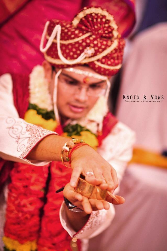 #knots and vows #wedding photography #mumbai wedding photography #rituals #bridegroom