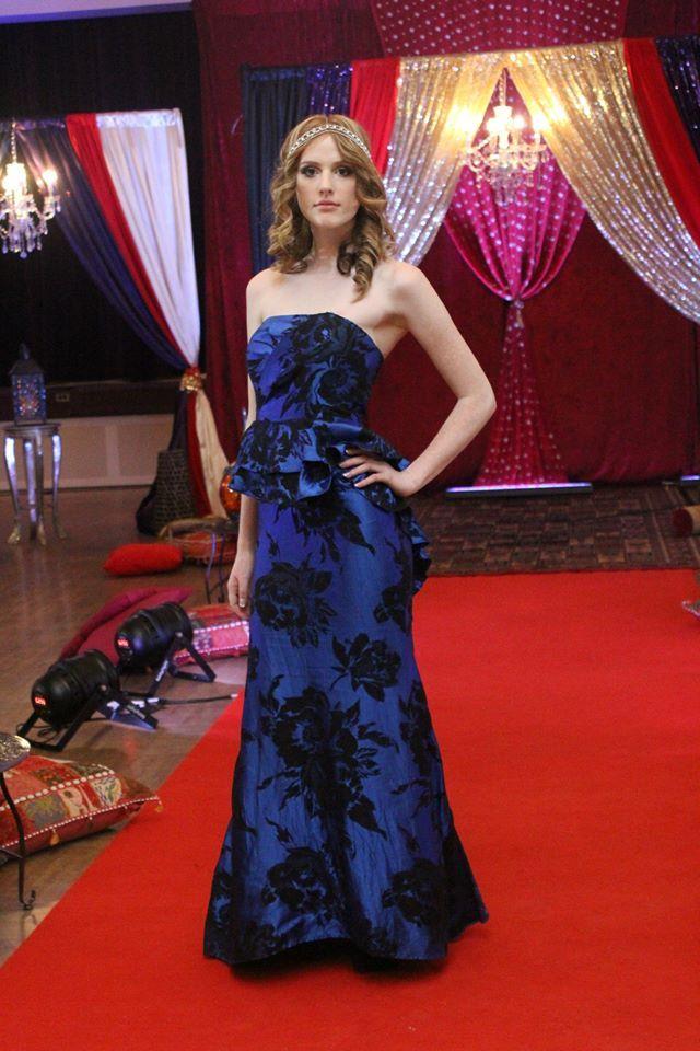 Orange Model: Emily M.  Ritzy Events Fashion SHow www.orangemodels.ca