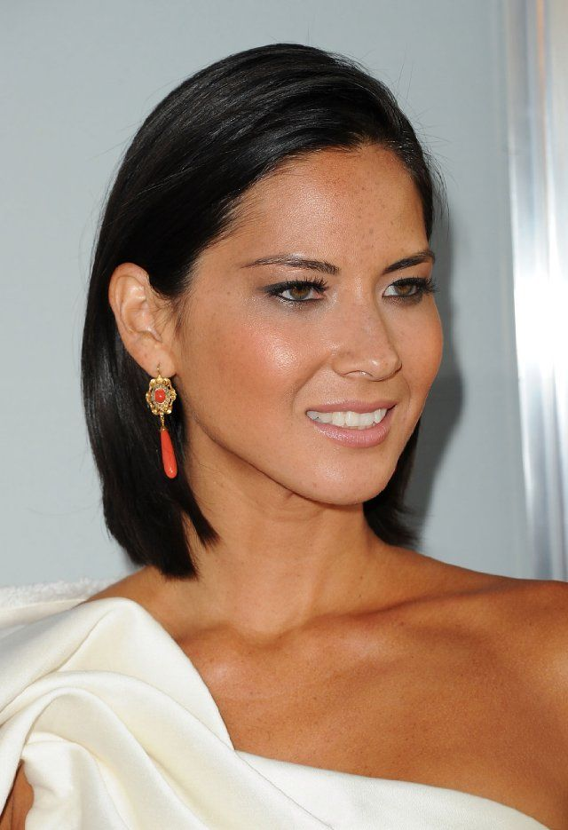 Love Olivia Munn's haircut...tempted to chop my long locks off and copy this style!