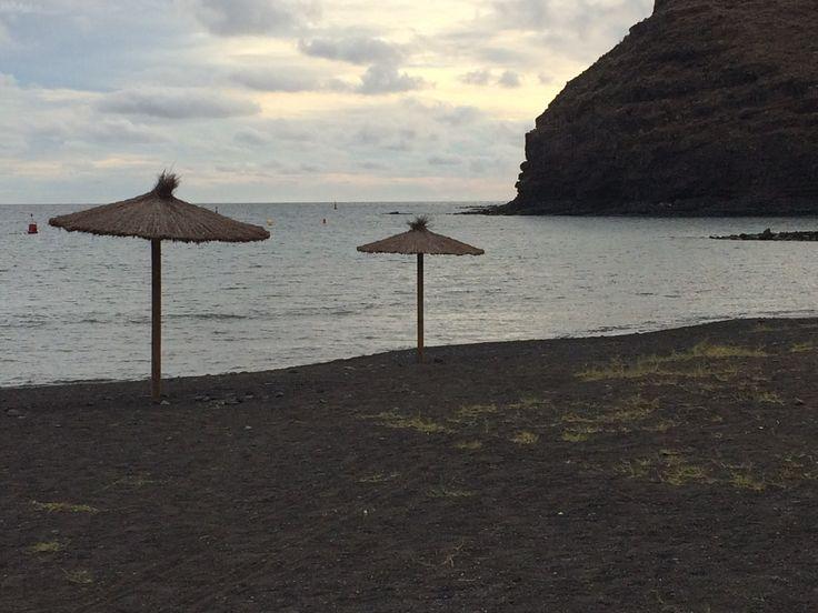Kanarische Inseln-La Gomera-San Sebastian- Playa San Sebastian