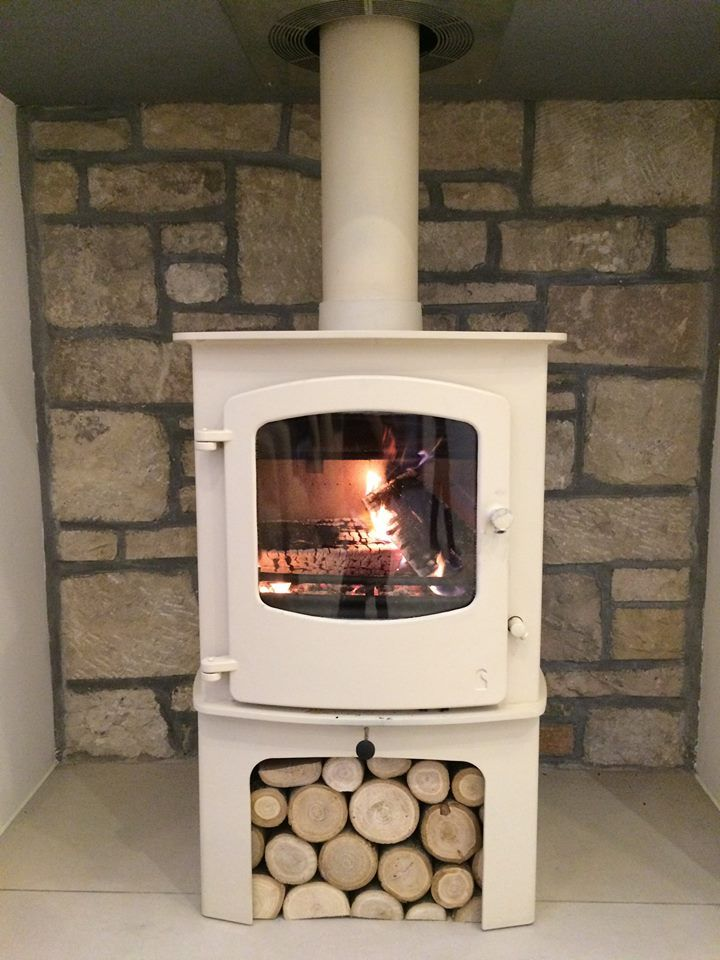 We installed this Charmwood Stoves - Cove 2 wood burning stove with twin wall flue system, as our customer's new build home did not have a chimney. The finished installation looks stunning and our client is delighted.