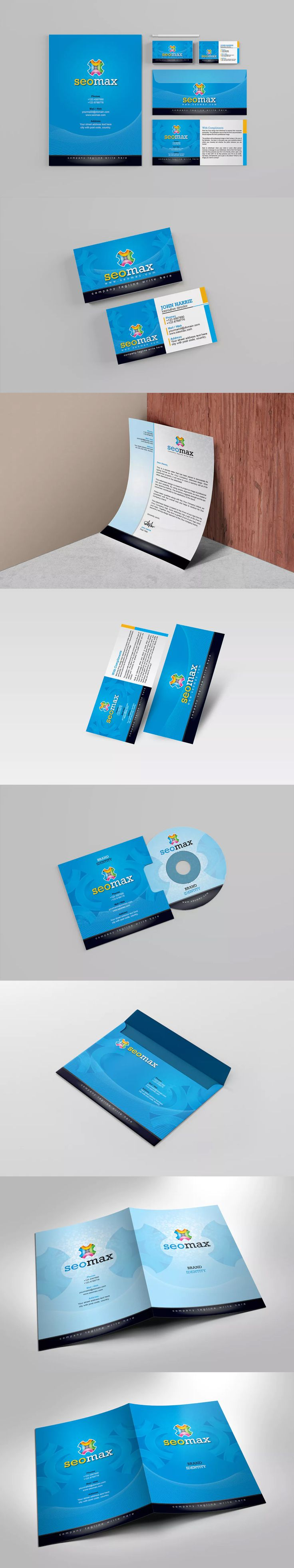 54 best Corporate Identity Template images on Pinterest ...