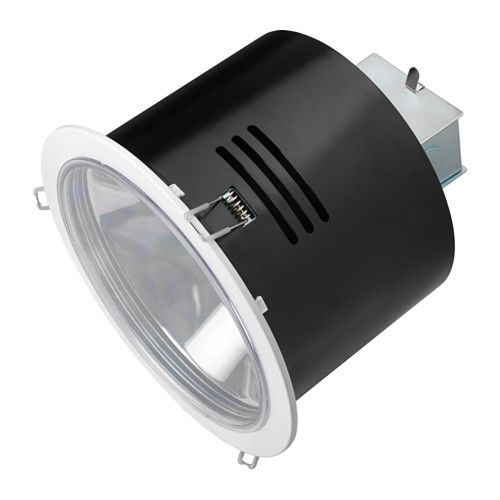 TURUMA Recessed spotlight, indoor/outdoor, white ...