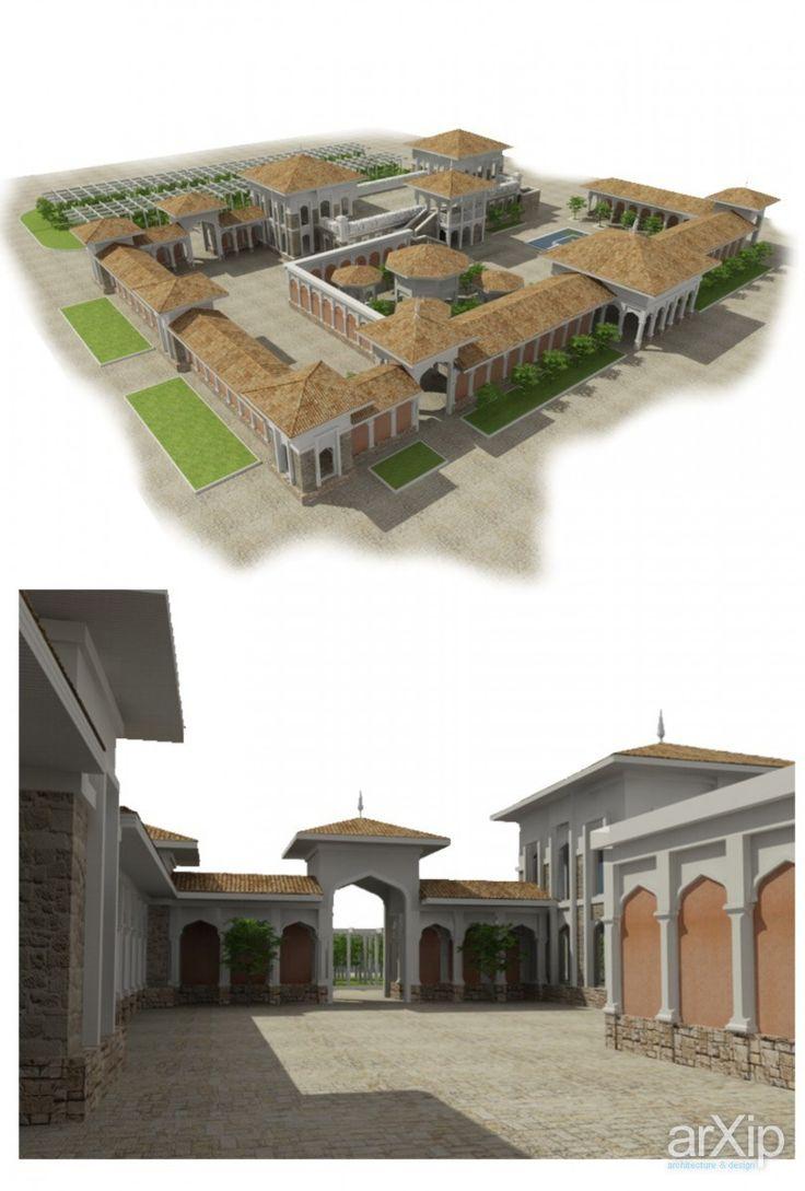 ЦО - 2: архитектура, ландшафтный дизайн, 3 эт | 9м, 500 - 1000 м2, каркас - ж/б, торгово-развл. центр, фасад - камень, восточный, средиземноморский стиль, городской парк, 10 - 20 соток #architecture #landscapedesign #3floors_9m #500_1000m2 #frame_ironconcrete #shoppingandentertainingcenter #facade_stone #oriental #mediterranean #citypark #10_20acres arXip.com