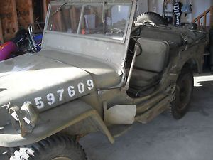 Willys - item condition used ww2 g i willys mb december of 1943 both dated jeep trailer set plus mannequin with many extras jeep starts ru