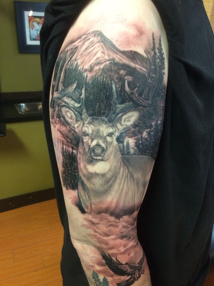 163 Best Images About Hunting Tattoos On Pinterest Deer