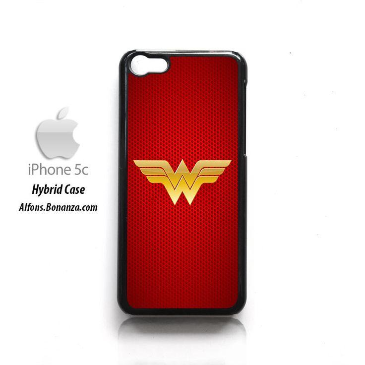 Wonder Woman Logo HYBRID iPhone 5c Hard Case