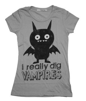 Uglydoll Vampire T: Vainglori Vampires, Bloody Vampires,  T-Shirt, Dracula Vampires, Uglydol Vampires, Vainglorious Vampires