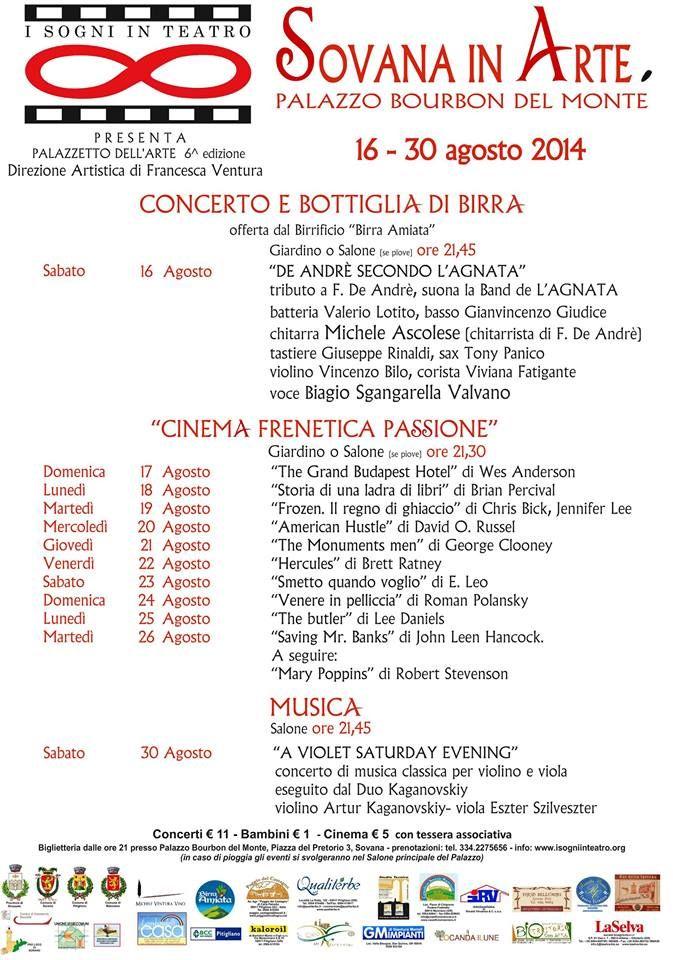 Sovana in Arte dal 16 al 30 Agosto 2014