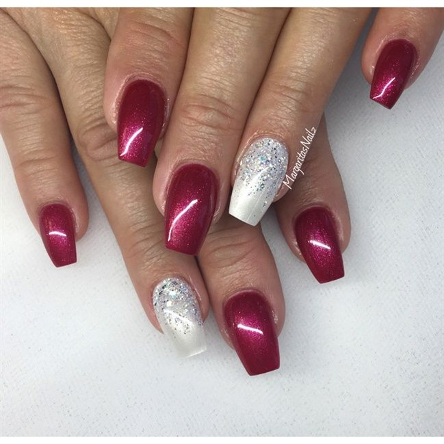 Best 25 red and white nails ideas on pinterest simple christmas nail art gallery red and white nail art photos prinsesfo Images