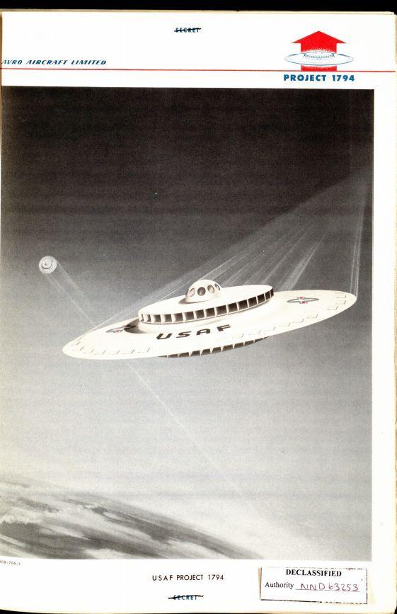 OVNI NASA USAF PROJJECT 1794