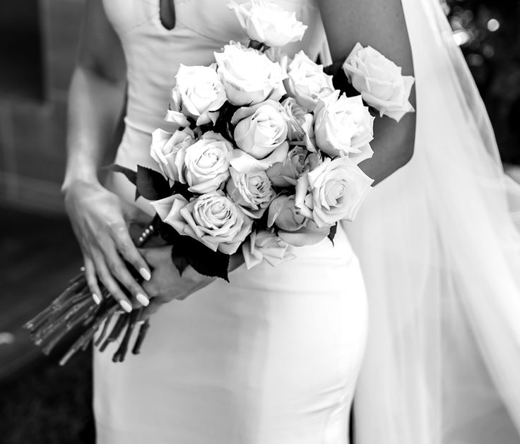 Flowers bouquet wedding Weddings photography roses bride brides Bridal wedding gown wedding dress white new York gown groom