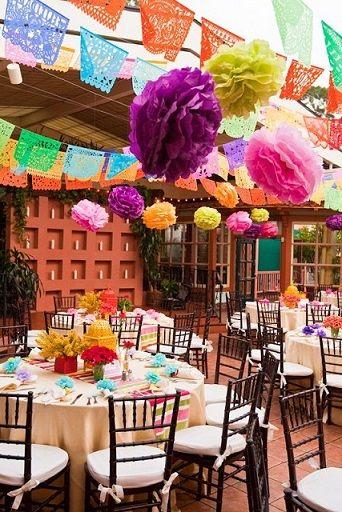 「メキシカン」がテーマのウェディングアイデアのご紹介♪ハッピー結婚式に! | ブログ | ウエディングプロデュースをする Brideal ブライディール