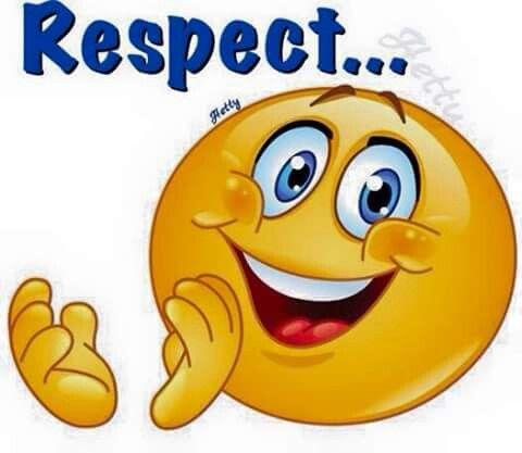 """Résultat de recherche d'images pour """"respect emoticon"""""""