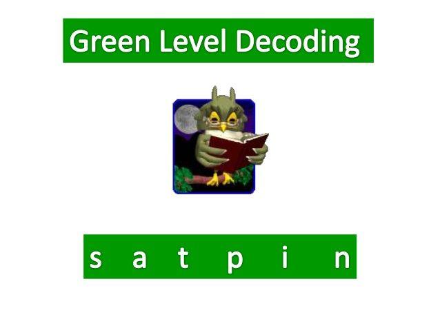 Green Level Decoding