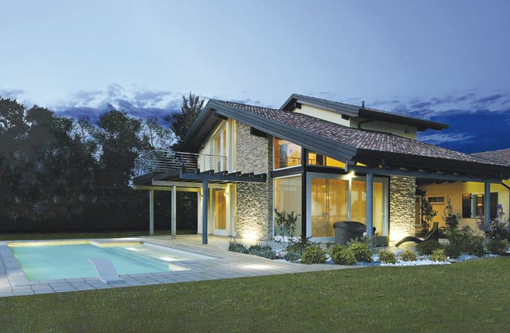 Alto livello di prefabbricazione: la casa in legno aiuta il risparmio energetico