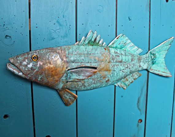 40 best copper fish images on pinterest fish art for Blue bass fish