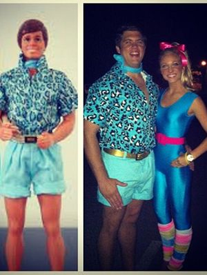 15 Fun and Unique DIY Halloween Couples Costumes Inspired By Your Favorite Cartoon Characters  sc 1 st  Pinterest & 10 best Couple costumes. images on Pinterest | Costume ideas ...